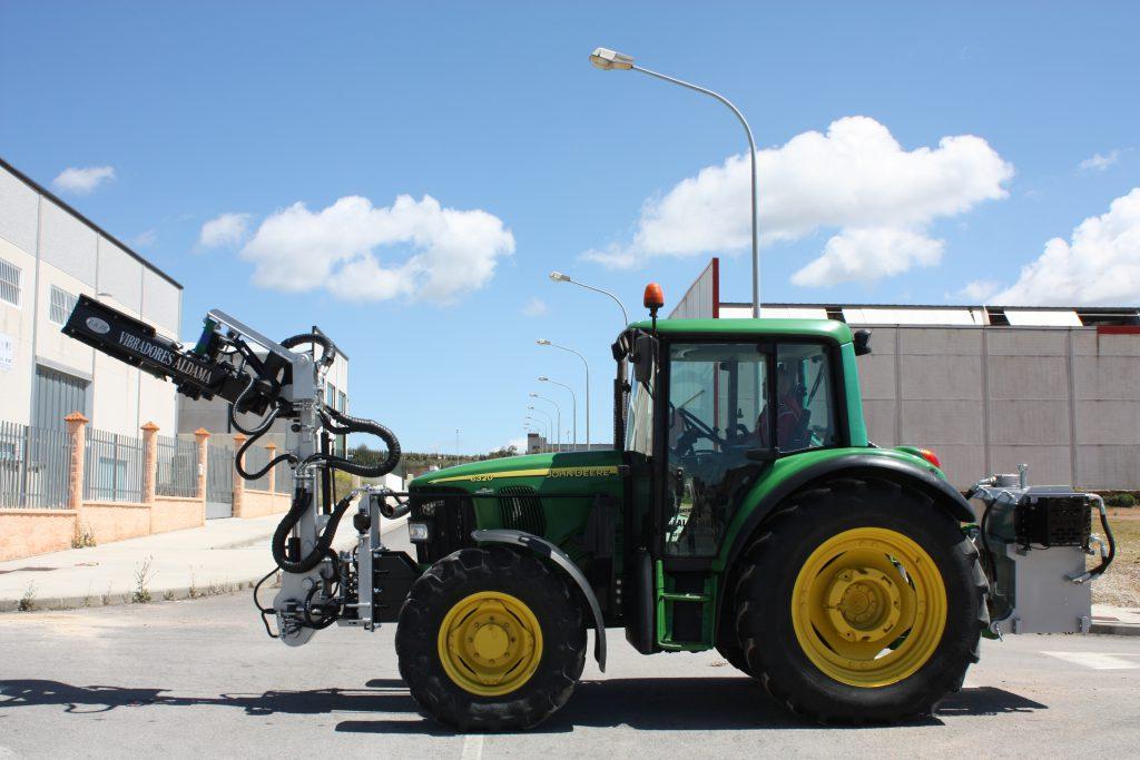 Pinza en tractor 2